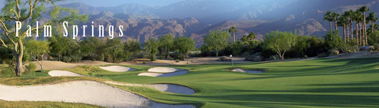 Palmsprings Golf Course Tour California