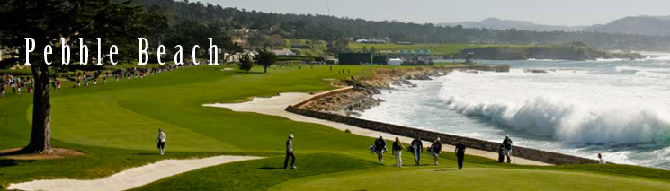 Pebble Beach Golf Course Tour California
